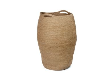 Laundry basket - Jute laundry hamper BA70195 - ANDREA HOUSE