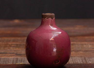 Vases - Small pink ceramic vase - CHEHOMA