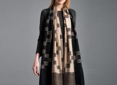 Scarves - Camille cashmere scarf - SADHU HANDMADE NATURALS