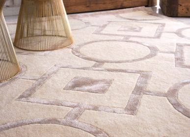 Design carpets - ROMANCE DESIGN, HANDMADE AREA RUG on PURE ORGANIC WOOL - KAYMANTA
