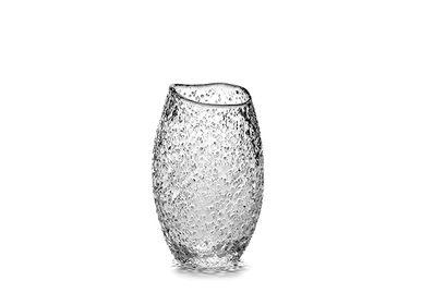 Glass - Helena cup Ø8 x h16 snow - SEMPRE LIFE