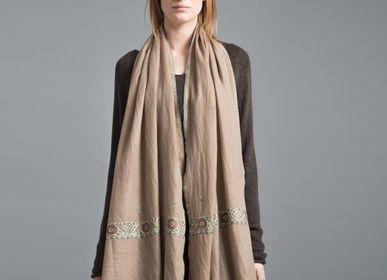Scarves - Jules cashmere scarf - SADHU HANDMADE NATURALS