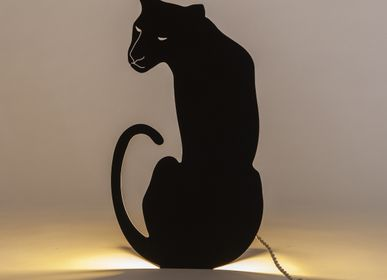 Decorative objects - THE PANTHER LAMP BLACK - GOODNIGHT LIGHT