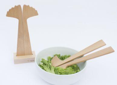 Couverts de service - Ginkgo | couverts à salade - REINE MÈRE