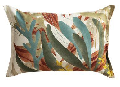 Cushions - Housse de coussin Silex gris - TOILES DE MAYENNE
