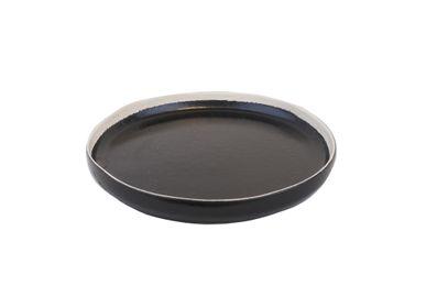Formal plates - Bob plate high curved Ø27 x h3 black - SEMPRE LIFE