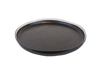 Formal plates - Bob plate high curved Ø32 x h3 black - SEMPRE LIFE