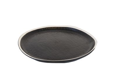 Formal plates - Bob plate soft curved Ø32 x h1,5 black - SEMPRE LIFE