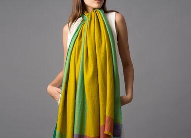 Scarves - Ella cashmere shawl - SADHU HANDMADE NATURALS
