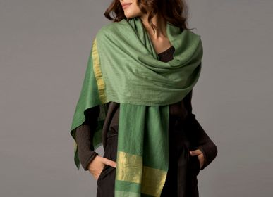 Scarves - Mario cashmere scarf and shawl - SADHU HANDMADE NATURALS