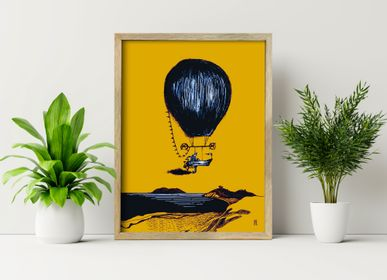 Wall decoration - Balloon poster - ST