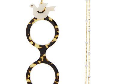 Bijoux - Flippan'Look Lunettes Collier Colombe - FLIPPAN' LOOK