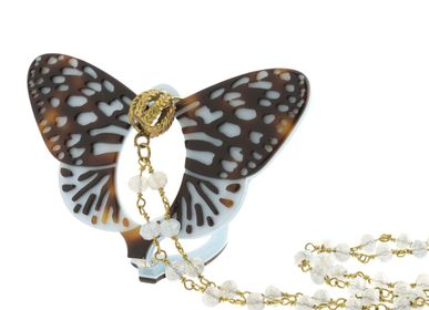 Jewelry - Flippan'Look Glasses-Necklace Royal Butterfly - FLIPPAN' LOOK