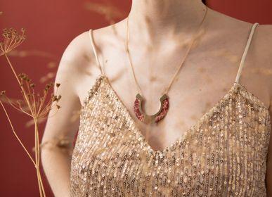 Bijoux - collier n.4 OSAKA - PEAU DE FLEUR