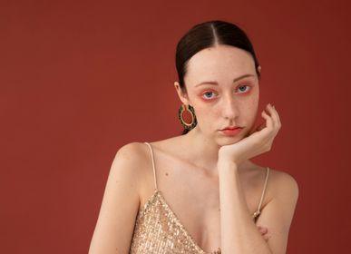 Jewelry - earrings - hoop earrings n.1 OSAKA - PEAU DE FLEUR