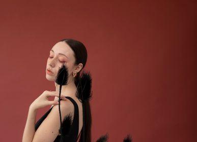 Bijoux - boucles d'oreilles - clous n.3 TOKYO - PEAU DE FLEUR