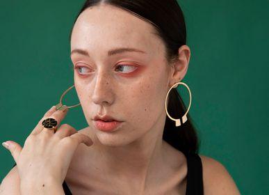 Jewelry - earrings - hoop earrings n.2 SHINJUKU - PEAU DE FLEUR