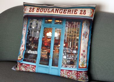 Fabric cushions - Cushion (cover) Bakery 28 - MARON BOUILLIE