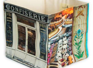 Homewear - Boite en tissu Confiserie Boulangerie - MARON BOUILLIE