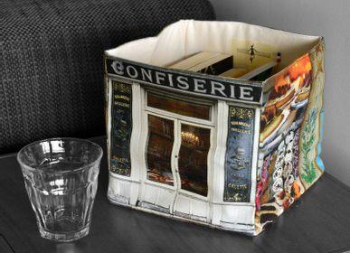 Homeweartextile - Boite en tissu Confiserie Boulangerie - MARON BOUILLIE