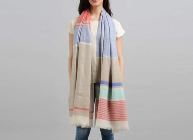 Scarves - Jolie cashmere scarf - SADHU HANDMADE NATURALS