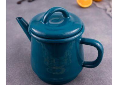 Carafes - Enamel teapot - ELIFLE ENAMELWARE