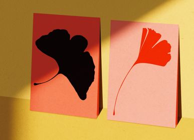 Card shop - Greeting Cards - Single Cards - Ginkgo Pop - COMMON MODERN
