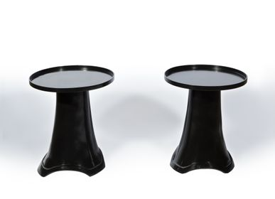 Tables - Bronze Side Table - AZEN