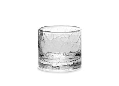 Crystalware - Whiskey glass cracked extra large - SEMPRE LIFE