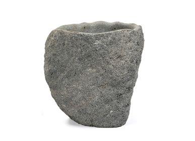 Vases - Helena vase h30 lavastone - SEMPRE LIFE