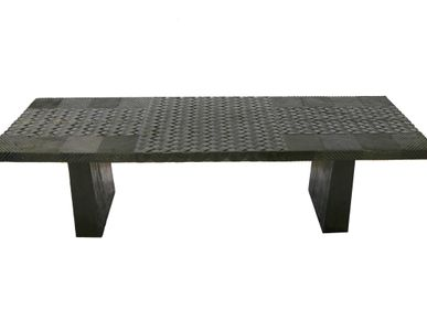 Console tables - Black Pattern Table - AZEN