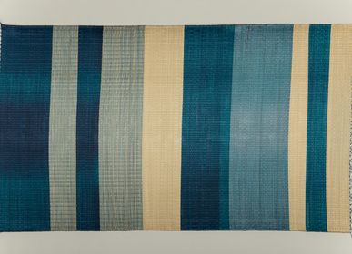Tapis  - KESSAR bleu - SARANY SHOP - CAMBODGE A PARIS