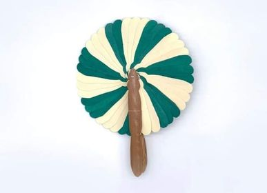Travel accessories / suitcase - Green Fan - SARANY SHOP