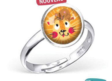 Bijoux - Bague Les Minis Lion - LES MINIS D'EMILIE FIALA