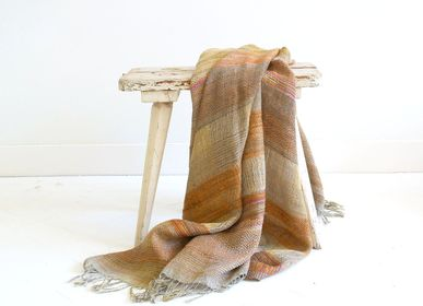 Throw blankets - June plaid - ML FABRICS