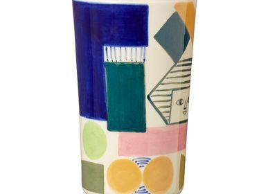 Ceramic - Kaleido Stoneware Vase - DONNA WILSON