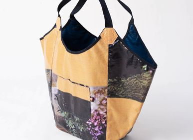 Shopping basket - Tote Bag Billboard Upcycling - IWAS PRODUCTS
