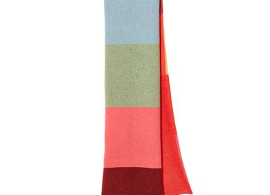 Scarves - Colourblock Scarf - DONNA WILSON