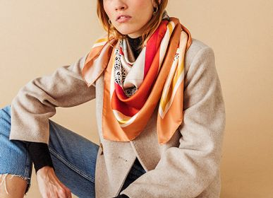 Scarves - Oxygenated - POCHETTE SQUARE