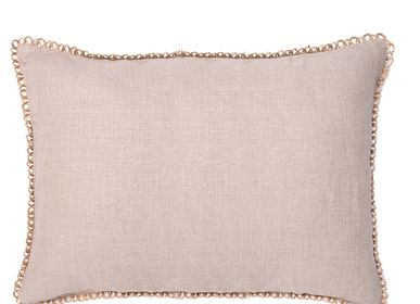 Cushions - Bee Antinque moss rectangular cushion cover - TRACES OF ME