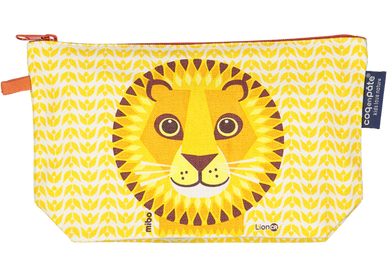 Kids accessories - Lion Pencil Case - COQ EN PATE