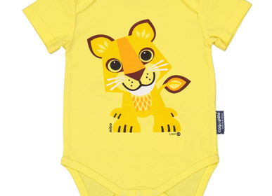 Childcare - Lion Short Sleeve Bodysuit - COQ EN PATE