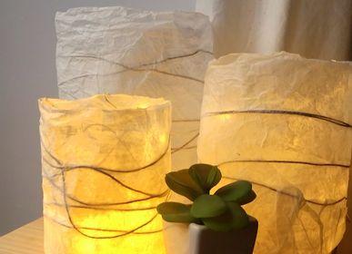 Accessoires de déco extérieure - Lot de 3 lampions Chrysalide - KARTEKO
