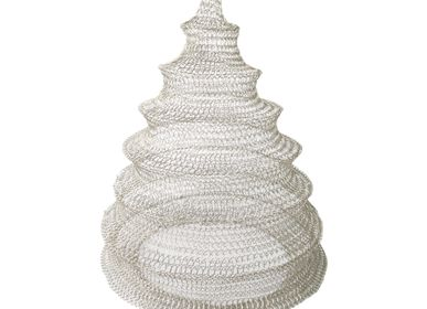 Hanging lights - Honeycomb Woven Wire Hanging Lampshade - NYAMAN GALLERY BALI