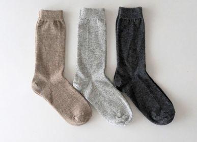 Chaussettes - CASHMERE WOOL SOCKS - NISHIGUCHI KUTSUSHITA