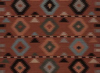 Rugs - Woolen Dhurrie Rug - AZMAS RUGS