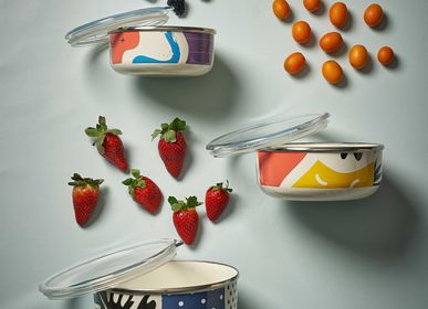 Assiettes de reception - Flashback Storage Containers - KAPKA ENAMELWARE