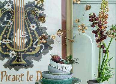 Decorative objects - Ceramics plates - BUNGALOW DENMARK