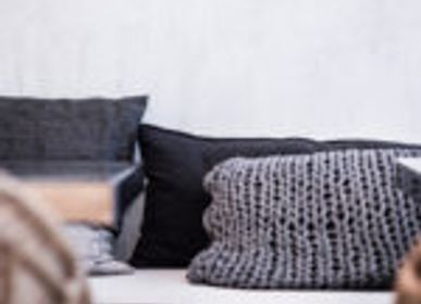 Cushions - DECORATIVE CUSHION KNIT HANDMADE - MIKMAX BARCELONA