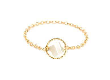 Jewelry - Bague chaînette petite étoile - YAY PARIS